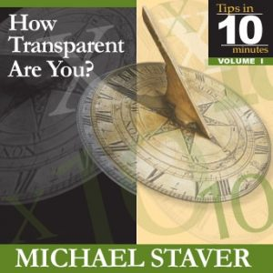 How Transparent Are you?