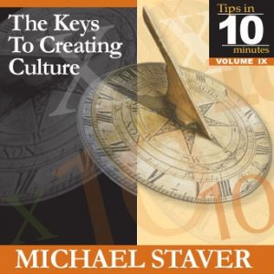The Keys to Creating Culture
